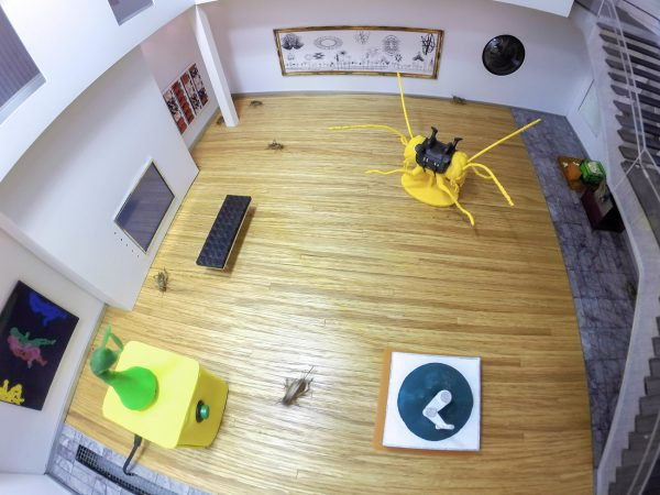 Engineering Mini Utopia exhibition at Urban Arts Space
