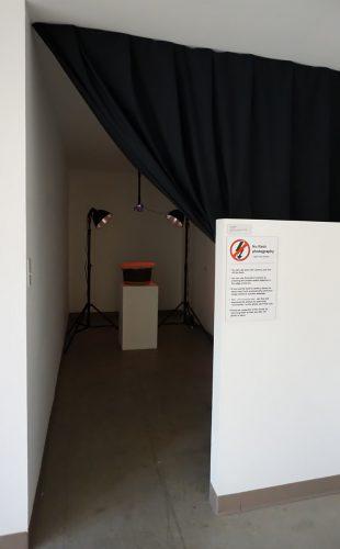 WormSelfie Photo Booth at the Kentucky School of Art
