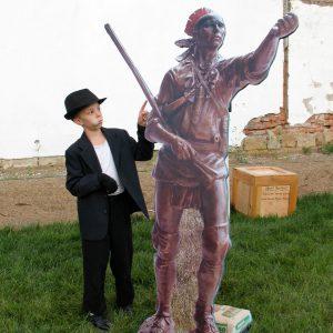 Coshocton Webcam Statue Stage