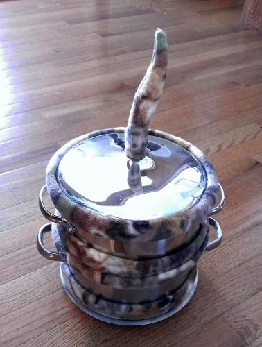 Worm Cozy Camo Cookpot