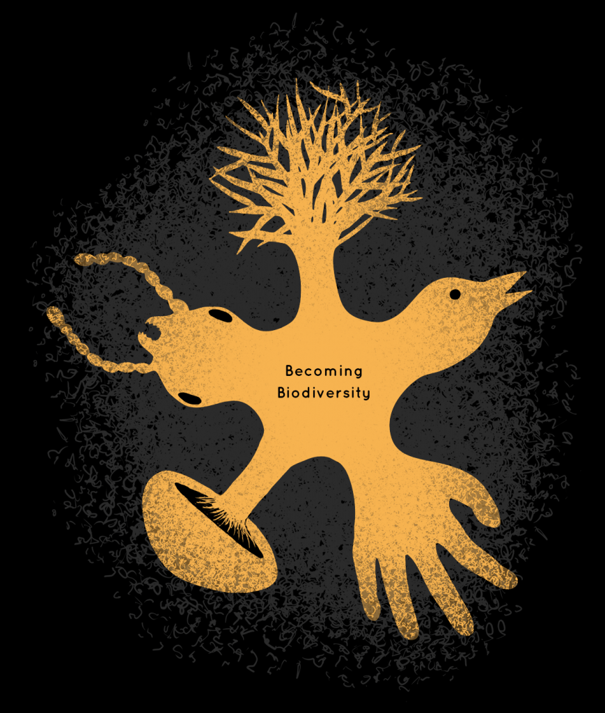 Logo for Becoming Biodiversity app