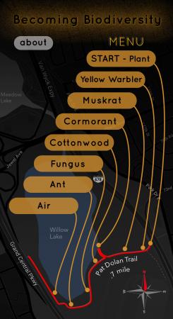 Becoming Biodiversity Menu Map